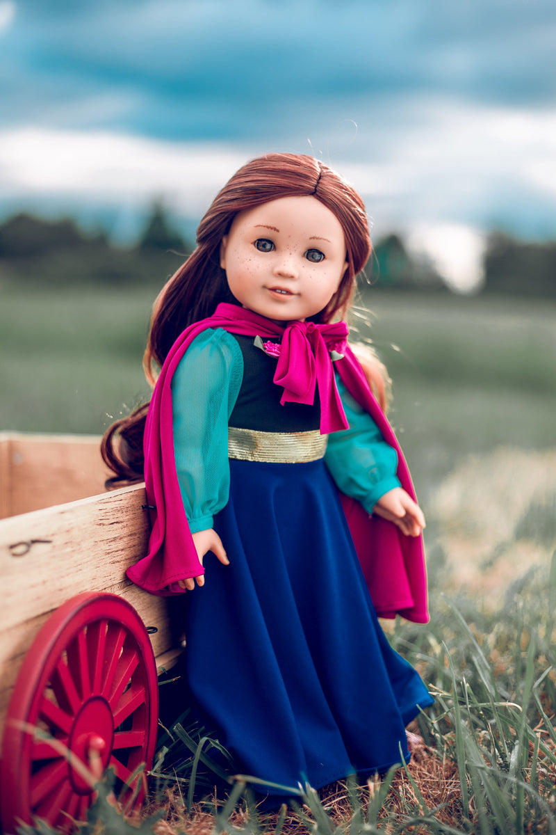 Princess of the North Doll Dress