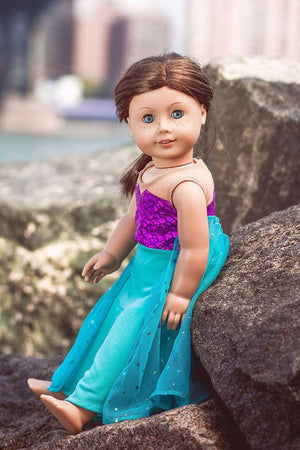 Mermaid Doll Dress