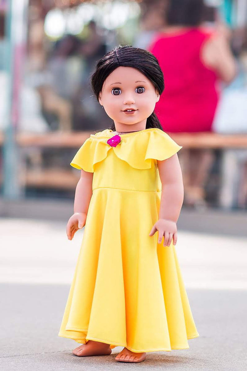Beauty Doll Dress