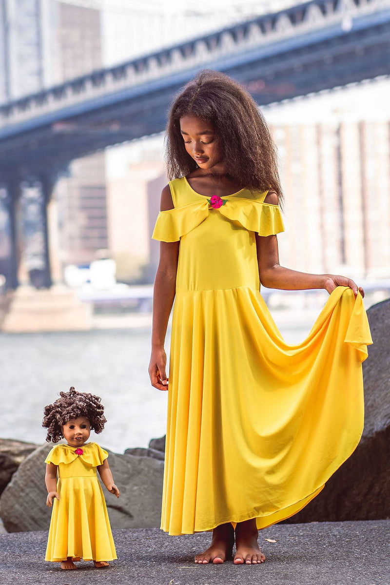 Matching Girl & Doll Beauty Dress