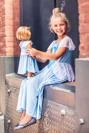 Matching Girl & Doll Happily Ever After Dress