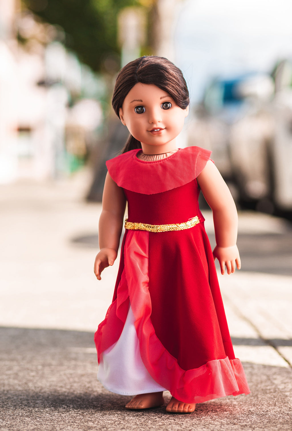 Princesa Doll Dress