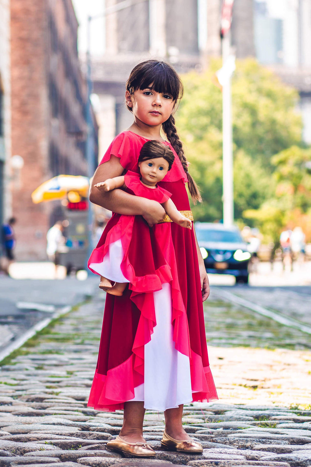 Matching Girl & Doll Princesa Dress