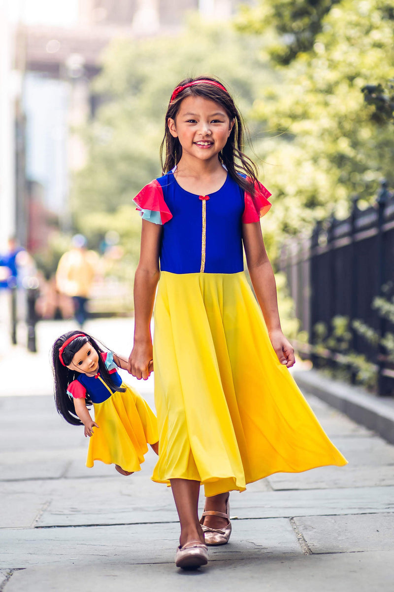 Matching Girl & Doll Magical Princess Dress