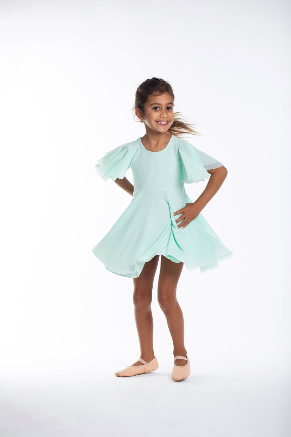 Turquoise Party Twirl Dress