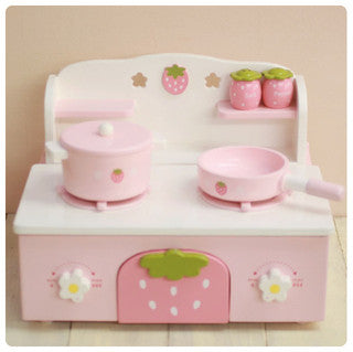 Mother Garden Strawberry Mini Kitchen
