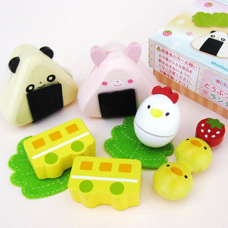 Mother Garden Playing House Bento Animal Lunch Box