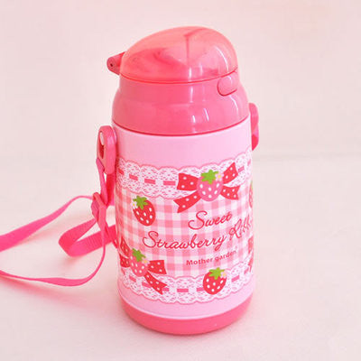 Mother Garden Novelty Water Bottle Strawberry