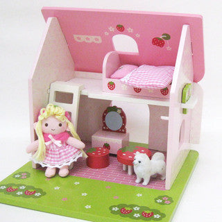 Mother Garden Playset Strawberry Mini Friend Playhouse