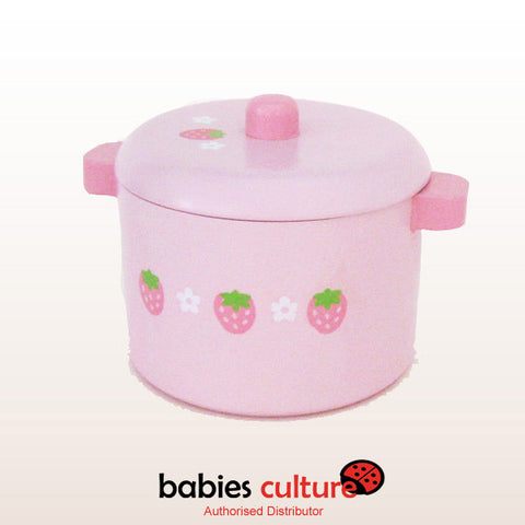 Mother Garden Strawberry Cute Deep Pot