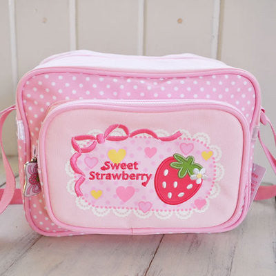 Mother Garden Shoulder Bag Strawberry Heart