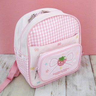 Mother Garden Bag Pack Strawberry Ribbon S