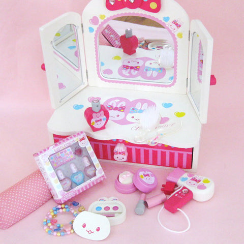 Usamomo Dressing Up Playset Ribbon Dresser Pastel