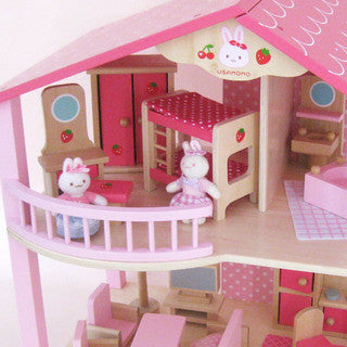 USAMOMO Doll House in Pink