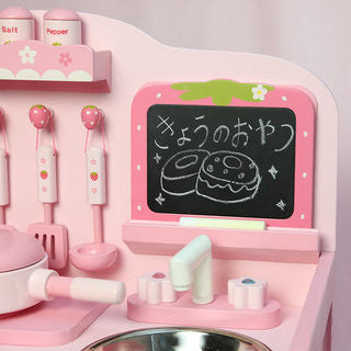 Mother Garden Playing House Kitchen Set Accessory Black Board
