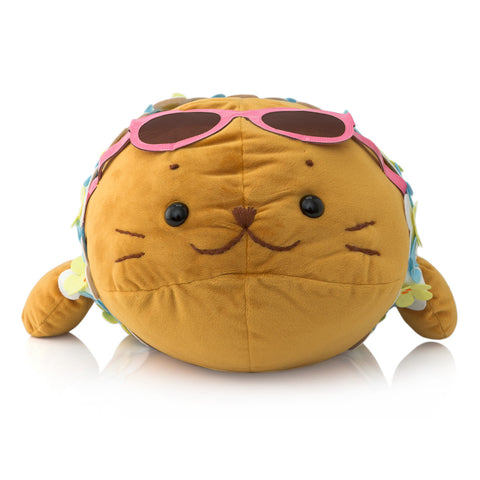 SIROTAN Stuffed Pillow 68cm Brown Sunglass