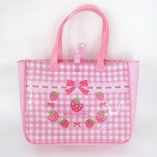 Mother Garden Tote Bag L Strawberry Heart