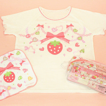 Mother Garden Novelty T-shirt Strawberry Jewel