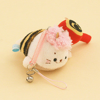 SIROTAN Keychain or Handphone Strap with Cleaner Ogre Pink