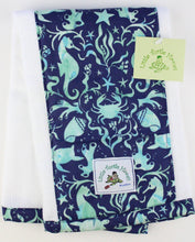 Load image into Gallery viewer, Made to Order, Coordinating Hawaiian Baby Gifts: Seashore Blue