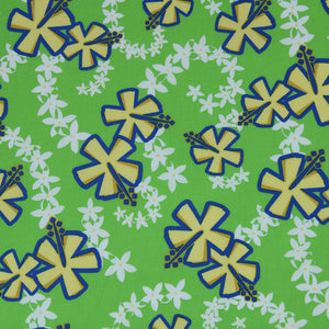 Made to Order, Coordinating Hawaiian Baby Gifts: Lei Aloha Lime Green
