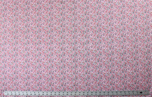 Fabric by the Yard, Children's Print: Garden Girl Floral Pink