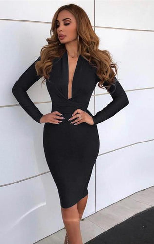 Elegant Black Evening Dress