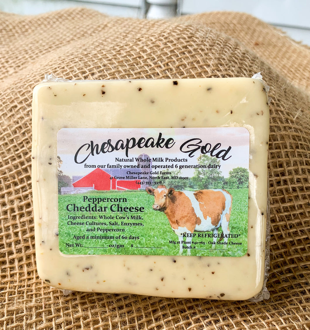 CGF BLACK PEPPERCORN Cheddar Cheese