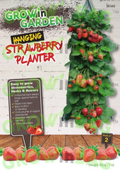 Hanging strawberry planter