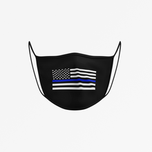 Load image into Gallery viewer, THIN BLUE LINE Face Mask