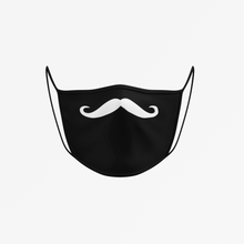 Load image into Gallery viewer, Kids Mustache Face Mask