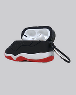 Load image into Gallery viewer, AJ 11 Bred AirPods Pro Case *PRE-ORDER CASE WILL SHIP IN 2-3 WEEKS*