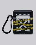 Load image into Gallery viewer, OW Tape (Black) AirPods Case *PRE-ORDER CASE WILL SHIP IN 2-3 WEEKS*
