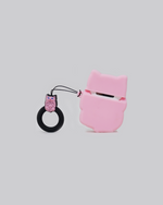 Load image into Gallery viewer, Pink Cat AirPods case