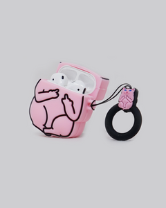 Pink Cat AirPods case