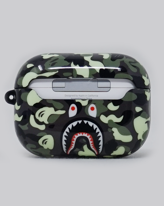 Ape Shark Inspired AirPods Pro Case (Green)