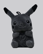 Load image into Gallery viewer, Pikachu Plush AirPods Case (Grey) *PRE-ORDER CASE WILL SHIP IN 2-3 WEEKS*