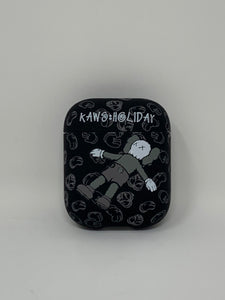 Black Kaws Holiday AirPods Case