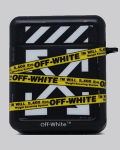 OW Tape (Black) AirPods Case *PRE-ORDER CASE WILL SHIP IN 2-3 WEEKS*