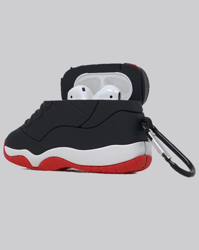 AJ 11 Bred AirPods Case *PRE-ORDER CASE WILL SHIP IN 2-3 WEEKS*
