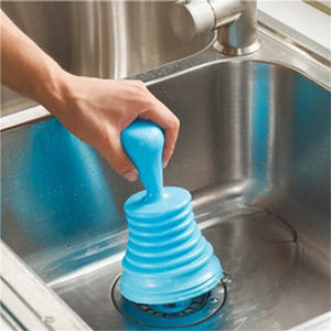 Strong Sink Pipeline Dredge Device Bathroom Washbasin Sewer Cleaner Plunger