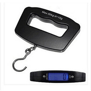 Pocket 50Kg/10g LCD Digital Hanging Hook Weight Luggage Useful Electronic Scale