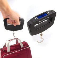 Load image into Gallery viewer, Pocket 50Kg/10g LCD Digital Hanging Hook Weight Luggage Useful Electronic Scale