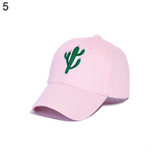 Load image into Gallery viewer, Cactus Pineapple Embroidery Dad Hat Unconstructed Fashion Unisex Baseball Cap