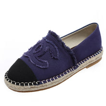 Load image into Gallery viewer, Women Shoes Fisherman Shoes Canvas Slip-on Casual Loafers Flats Comfortable Casual Mules