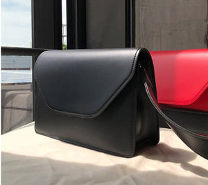 Women Pu Leather Shoulder Bags Girls Brief Flap Women's Casual Messenger Bags Crossbody Bags