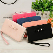 Load image into Gallery viewer, Women Wallets Purses Wallet Female Famous Brand Credit Card Holder Clutch Coin Purse Cellphone Pocket Gifts For Women Money Bag