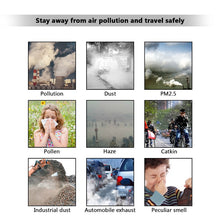 Load image into Gallery viewer, Dust Mask PM2.5 Neoprene Smog Fog Motorbike Riding Face Mouth Custom Air Filter Wholesale Anti Odor Smoke Dust Maske Health