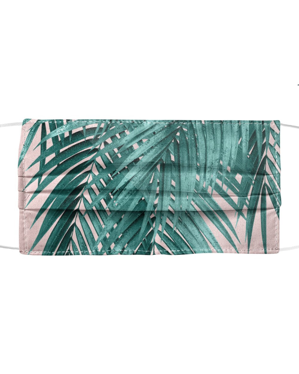 Palm Leaves Blush Vibes Mask