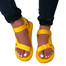 Load image into Gallery viewer, Womens Summer Outdoor Beach Sandals Soft-slip Sandals Open-toe Slippers